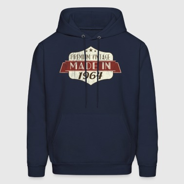 Vintage 1964 50th Birthday - Men's Hoodie