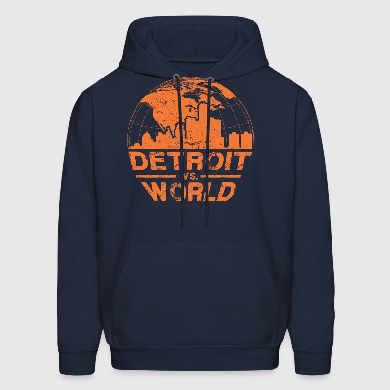 Detroit VS World - Men's Hoodie
