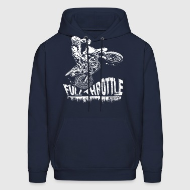 Dirt Biker Full Throttle - Men's Hoodie