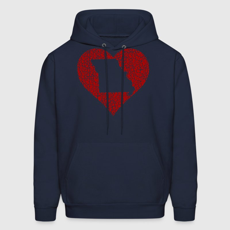 Missouri Heart Clothing Apparel Tees - Men's Hoodie