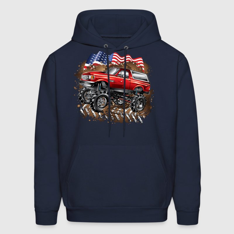 Mud Truck Ford Bronco - Men's Hoodie
