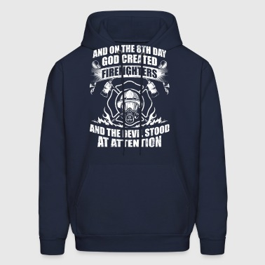 Firefighters Devil Fire - Men's Hoodie