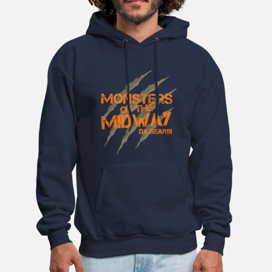 super cute 2aec4 cbf53 Monsters of the Midway! Da Bears! Men's Hoodie   Spreadshirt