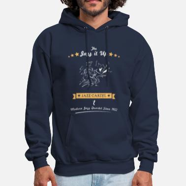Jazz JAZZ IT UP - Men's Hoodie
