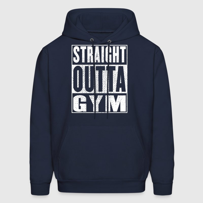 Straight Outta Gym Vintage - Men's Hoodie
