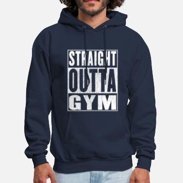 Cool Art Straight Outta Gym Vintage - Men's Hoodie