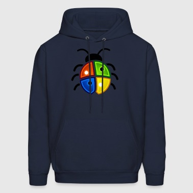 Ladybird Windows Bug1 - Men's Hoodie