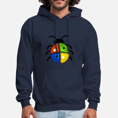 Windows Ladybird Windows Bug1 - Men's Hoodie