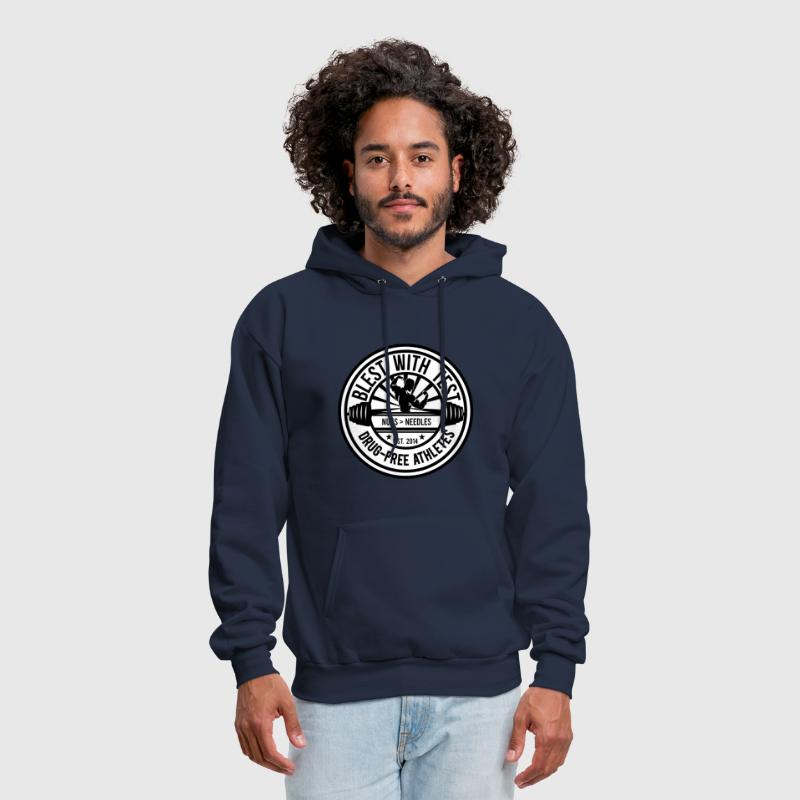 Blest With Test Logo - Men's Hoodie