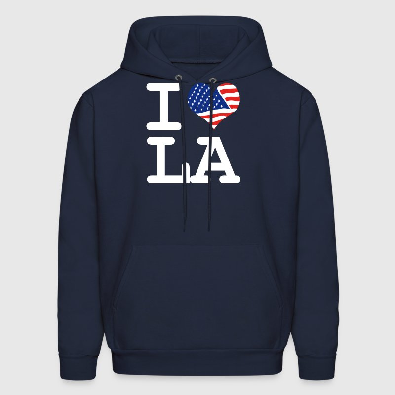 i love LA - Los Angeles - Men's Hoodie