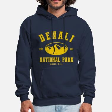 Alaska Denali National Park - Men's Hoodie