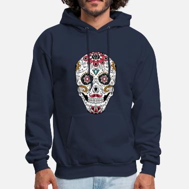 Day Of The Dead Sugar Skull 05 - Men's Hoodie