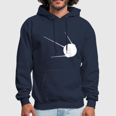 Sputnik 1 Soviet Union Earth Russian Satellite - Men's Hoodie