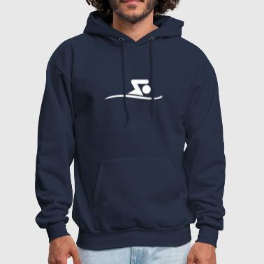 Swim swimming - Men's Hoodie