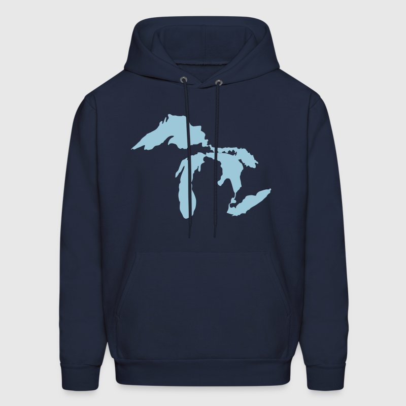 The Great Lakes - Men's Hoodie