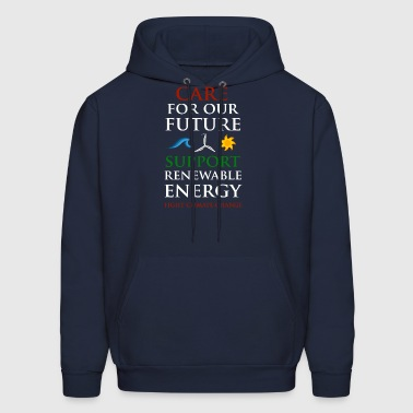 Care For Our Future  - Men's Hoodie