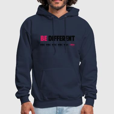 Be Different be different - Men's Hoodie