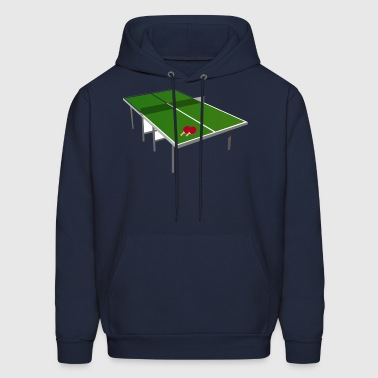 Tennis Table - Men's Hoodie