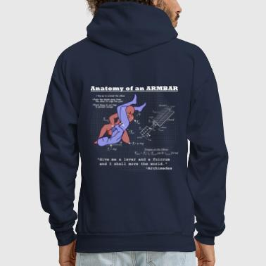 Wrestling Anatomy of an Armbar 2 - Men's Hoodie