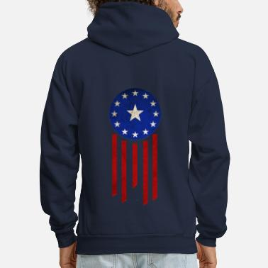 Old World Flag - Courier Six - Men's Hoodie