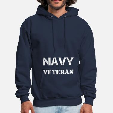 Navy Veteran US Navy Veteran t-shirt Veterans Day t shirt - Men's Hoodie