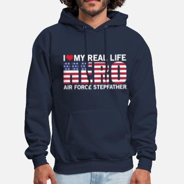 Air Force Air Force Stepfather Shirts! - Men's Hoodie