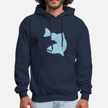 Trout Vector Graphic - Trout Logo - Men's Hoodie