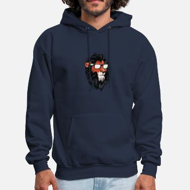 Scar Lion Cool Summerish Scar Cyber System - Men's Hoodie