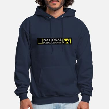Pornographic National Pornographic - Men's Hoodie