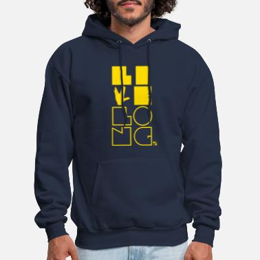 Live long, all you Trekkies! [yellow] - Men's Hoodie