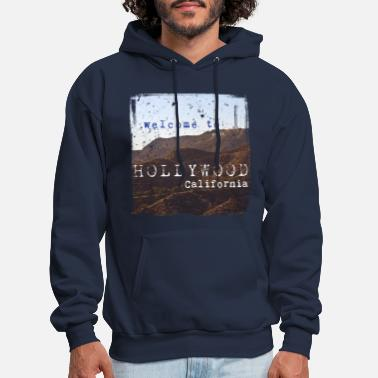 California Welcome to Hollywood Vintage - Men's Hoodie