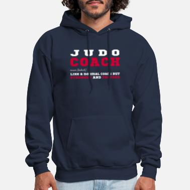 Judo Judo Coach - Gift for Judo Coaches - Men's Hoodie