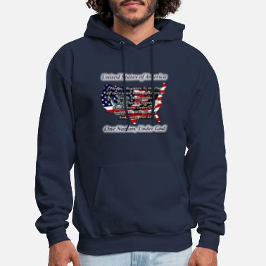 Under God Pledge - Men's Hoodie