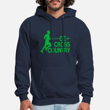 Country Cross country - Men's Hoodie