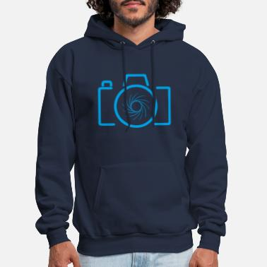Evolution Camera shutter photo photography photographer - Men's Hoodie