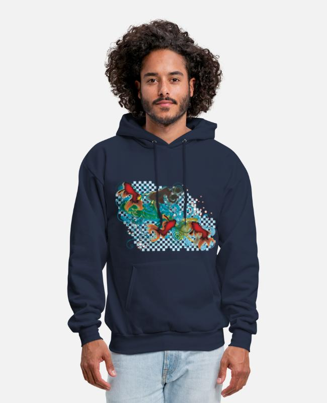 Water Hoodies & Sweatshirts - SWIMMY - Men's Hoodie navy