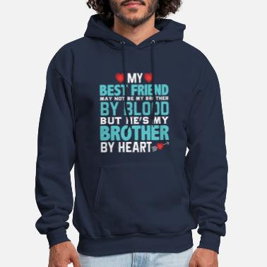 Hes Best Brother T-shirts! Funny Brother Shirts - Men's Hoodie