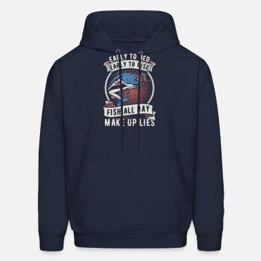Keep Calm Fish On Bass Fishing Fisherman Gift Mens Crewneck Pullover Sweat Shirt