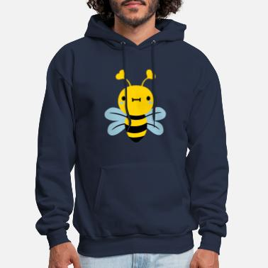 Bumble Bee cute little bee hornets - Men's Hoodie