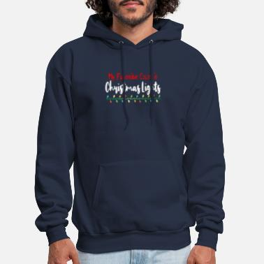 My Favorite Color Is Christmas Lights - Men's Hoodie