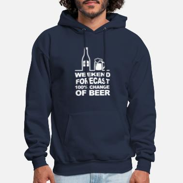 Weekend Weekend Forecast - Men's Hoodie