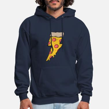Lightning pizza gifts ideas - Men's Hoodie