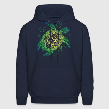 Sea Turtle - Men's Hoodie