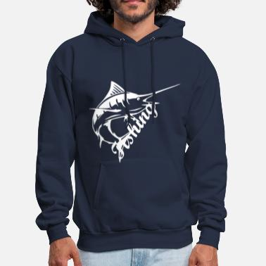 Saltwater Fishing - Men's Hoodie