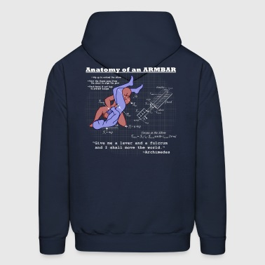 Anatomy of an Armbar 2 - Men's Hoodie
