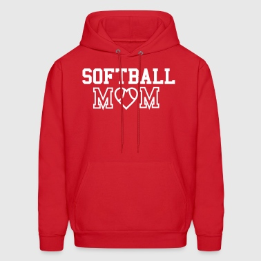 Softball Mom - Men's Hoodie