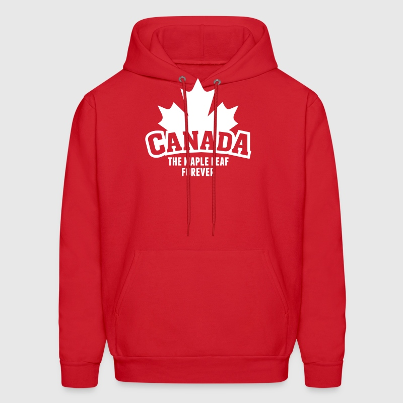 CANADA, THE MAPLE LEAF FOREVER - Men's Hoodie