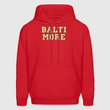 Baltimore College Style Design - Men's Hoodie