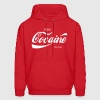 enjoy cocaine - Men's Hoodie