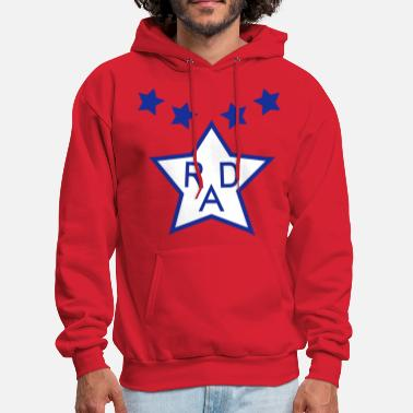 Cru Cru Jones' BMX Rad Racing Uniform Design - Men's Hoodie